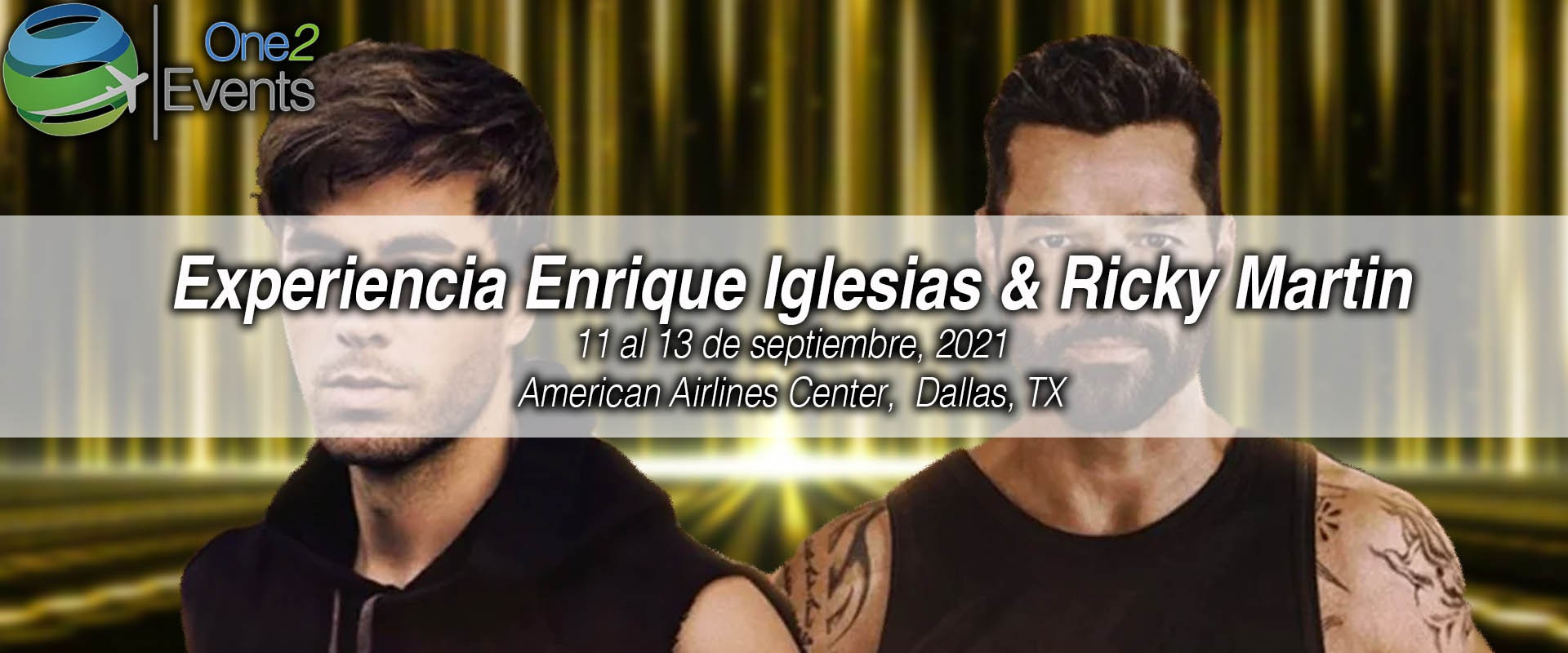 Concierto Enrique Iglesias & Ricky Martin American Airlines Center, Dallas