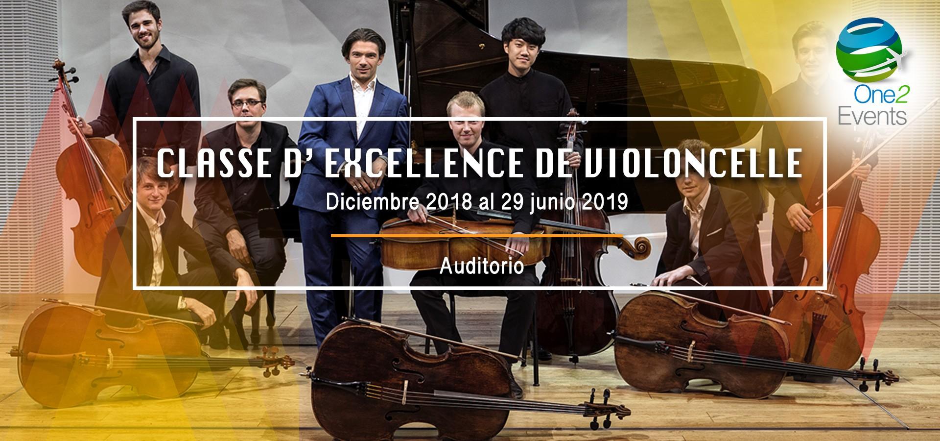 CLASSE D' EXCELLENCE DE VIOLONCELLE
