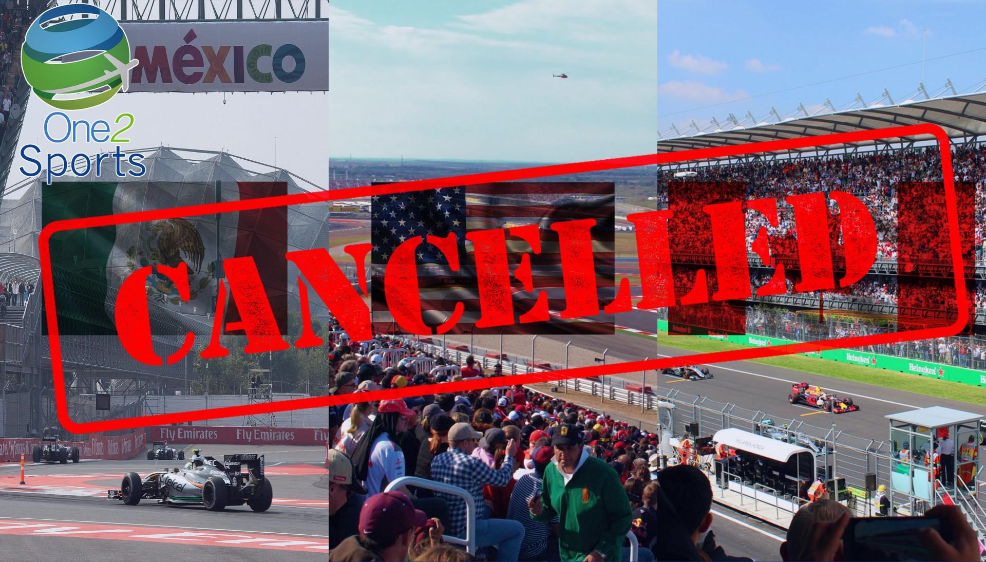 La Fórmula 1 confirma que no es posible competir en Brasil, Estados Unidos, México y Canadá en 2020