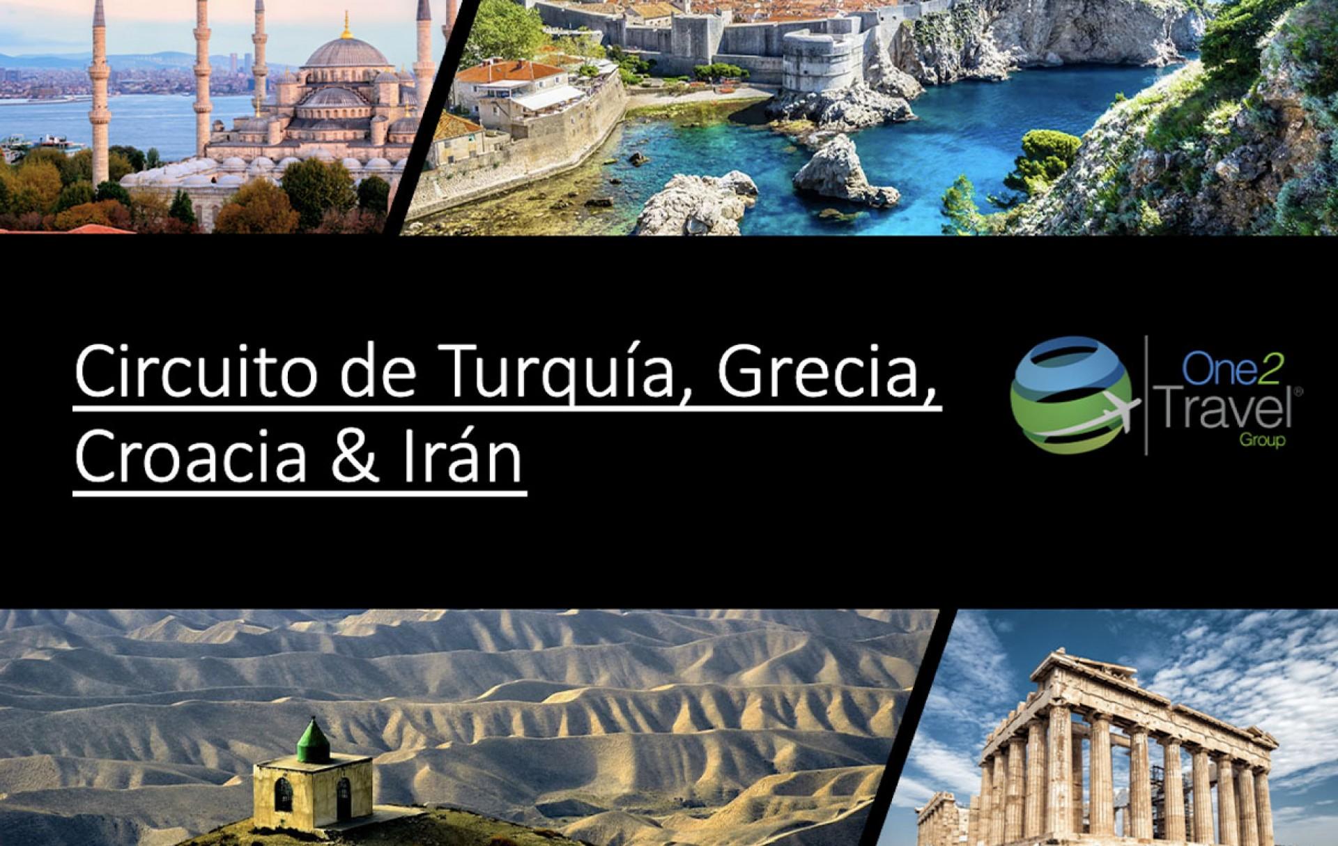 Seminario Web | One2Travel | Circuito Turquía, Grecia, Croacia & Irán