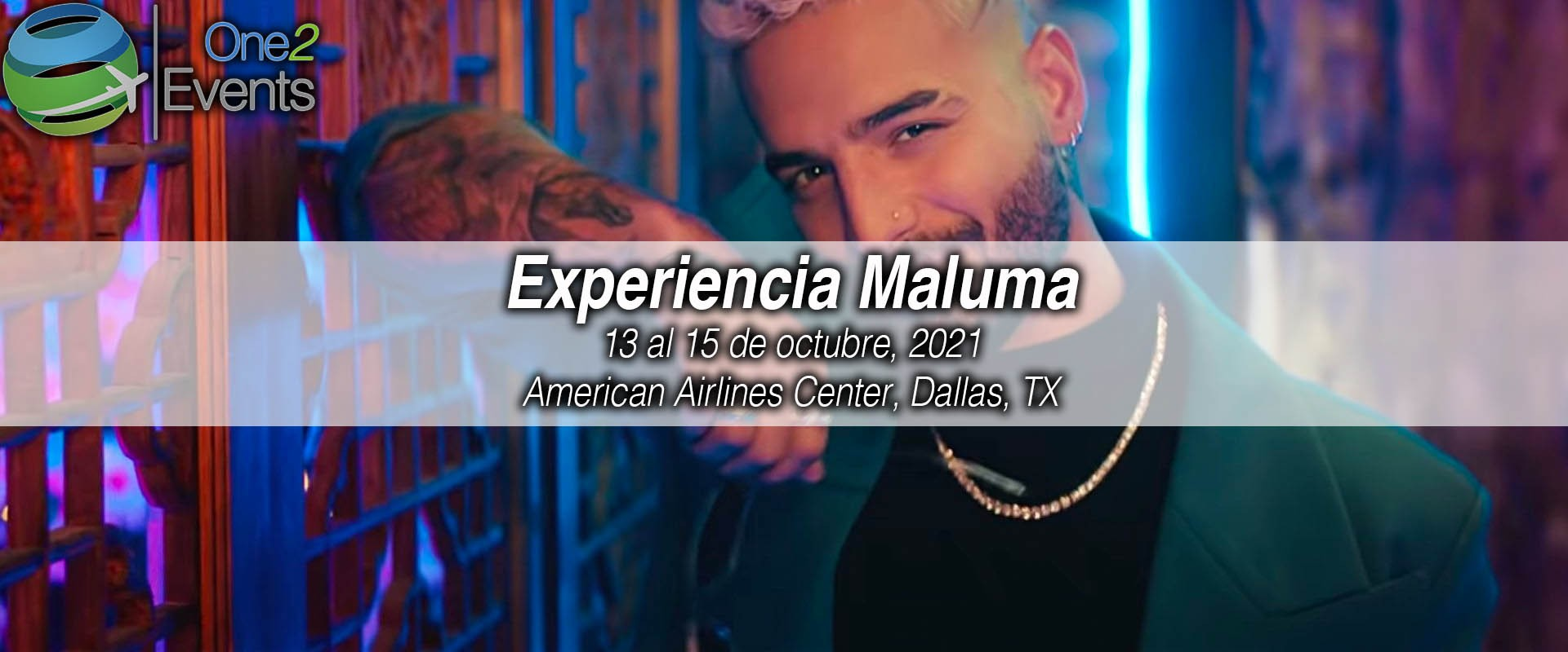 Concierto Maluma en American Airlines Center, Dallas