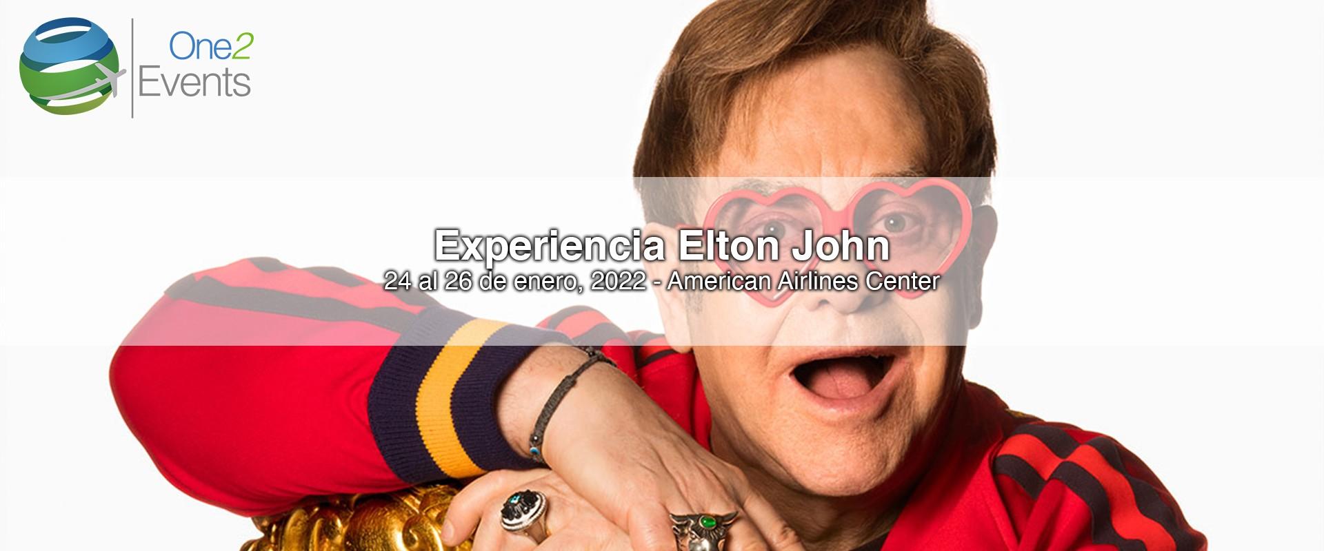 Concierto Elton John en American Airlines, Dallas