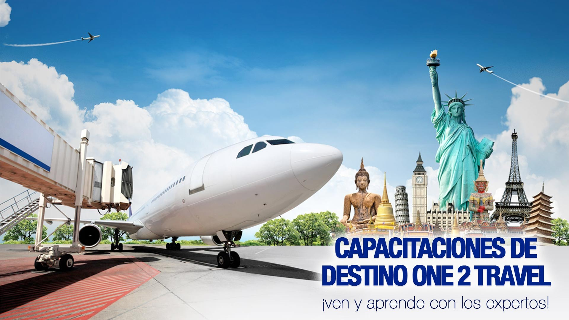 Capacitaciones de destino One2Travel