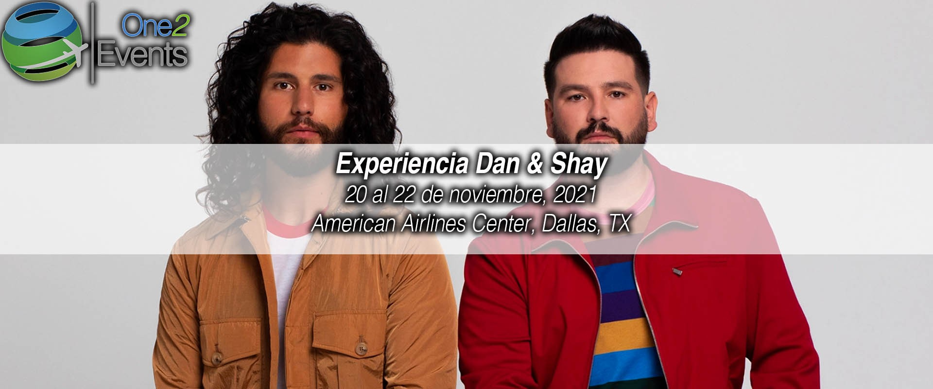 Concierto Dan + Shey en American Airlines, Dallas