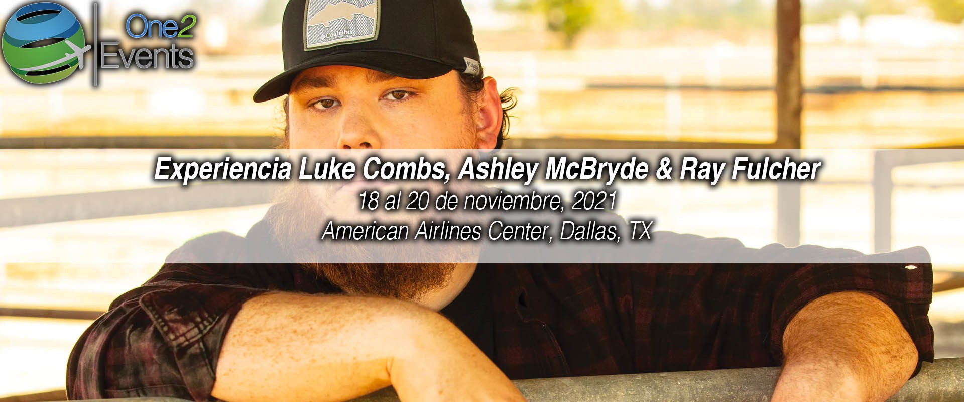 Concierto Luke Combs en American Airlines Center, Dallas