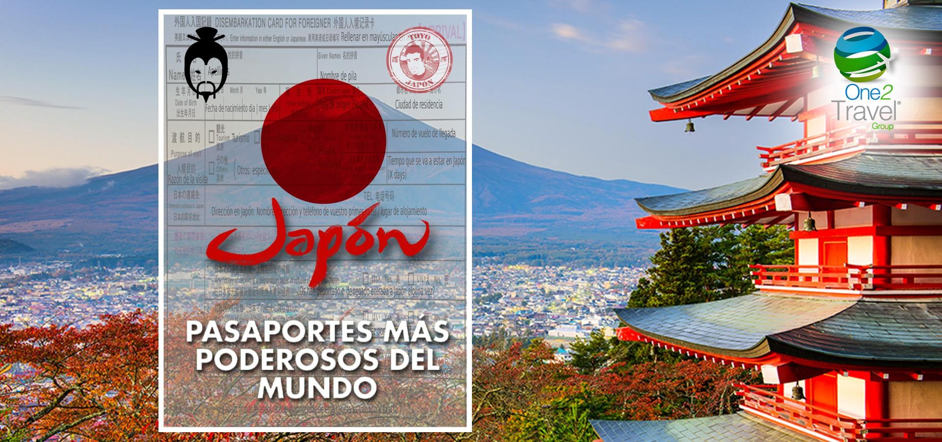 El pasaporte japonés el más poderoso del mundo: puede entrar a 190 países sin visa