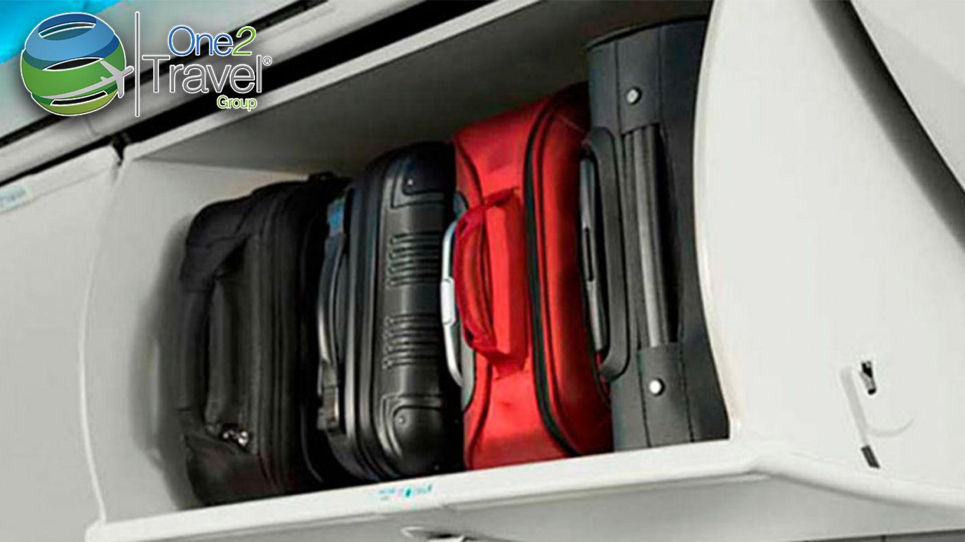 OACI recomienda reducir equipaje de mano
