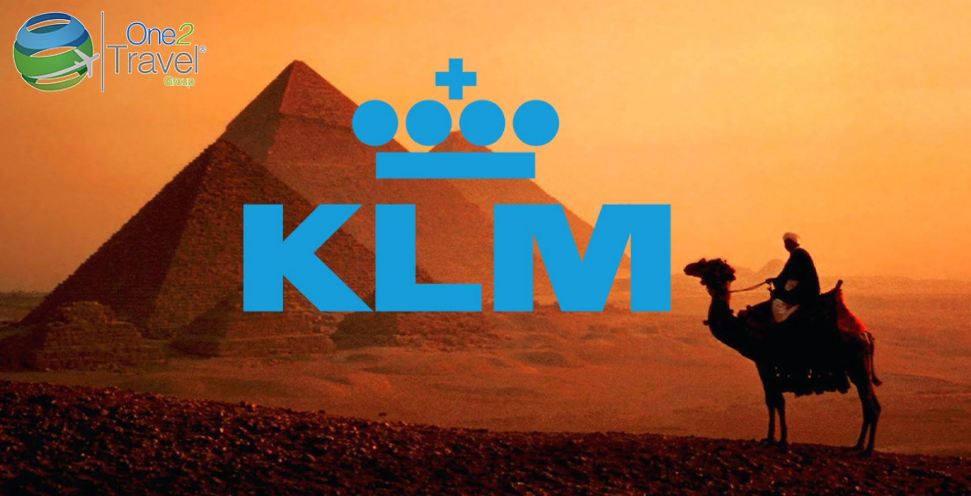 KLM confirma su programa de vuelos al Cairo para este Invierno