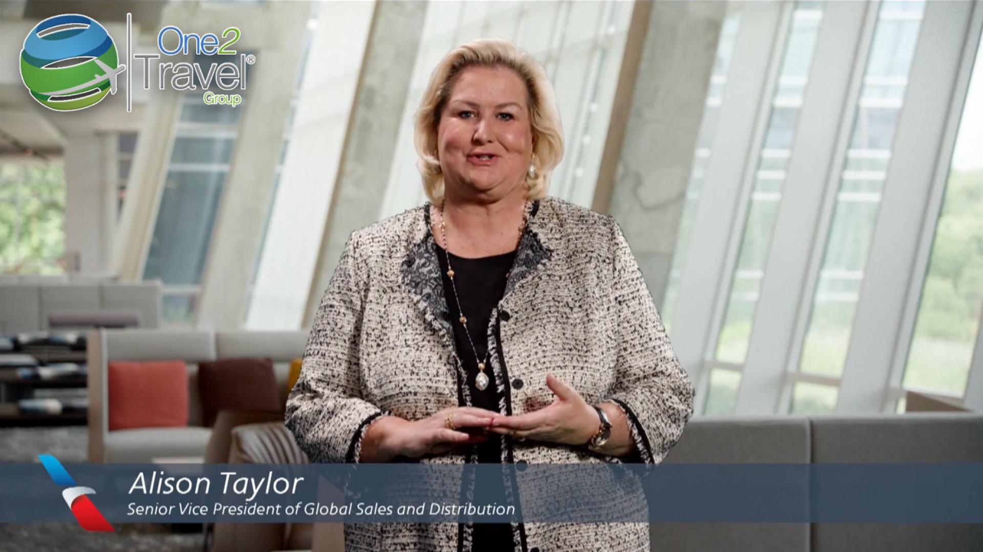 Un videomensaje de Alison Taylor - American Airlines