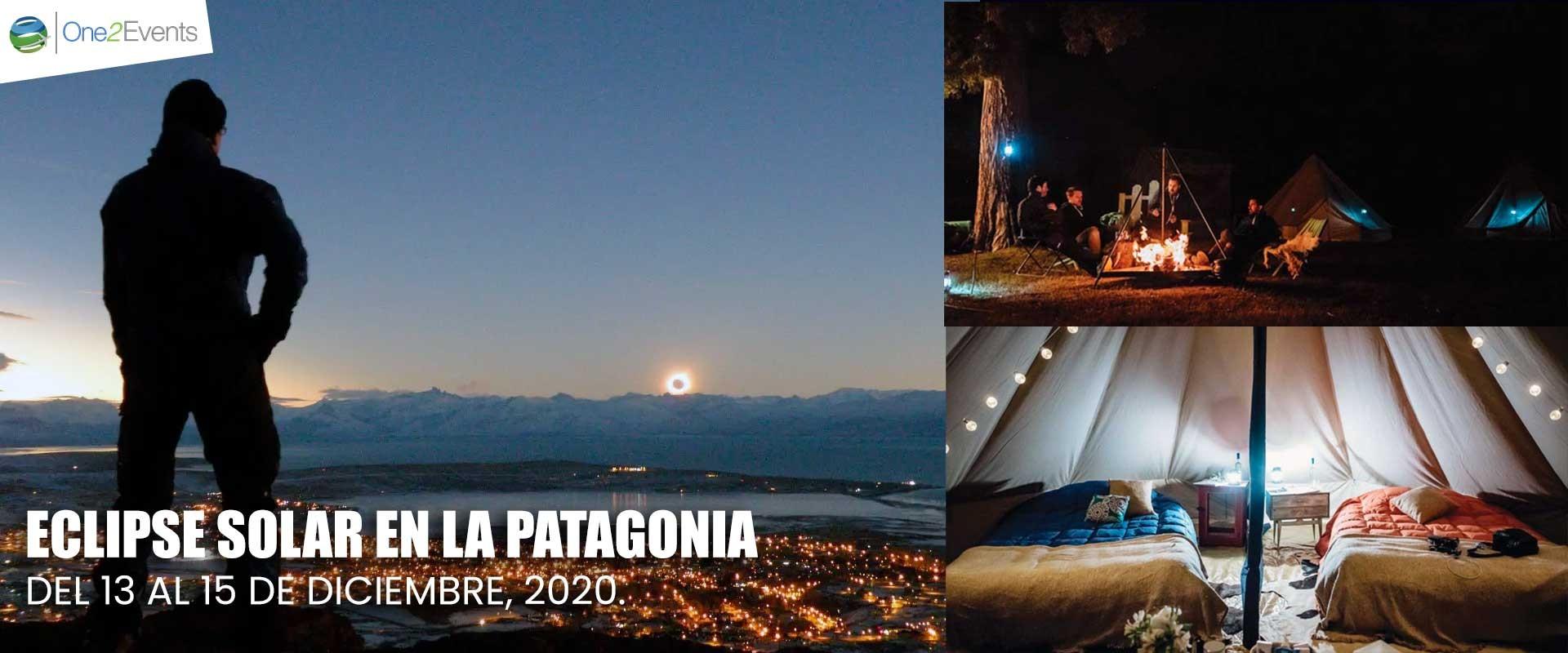 Eclipse solar en la Patagonia