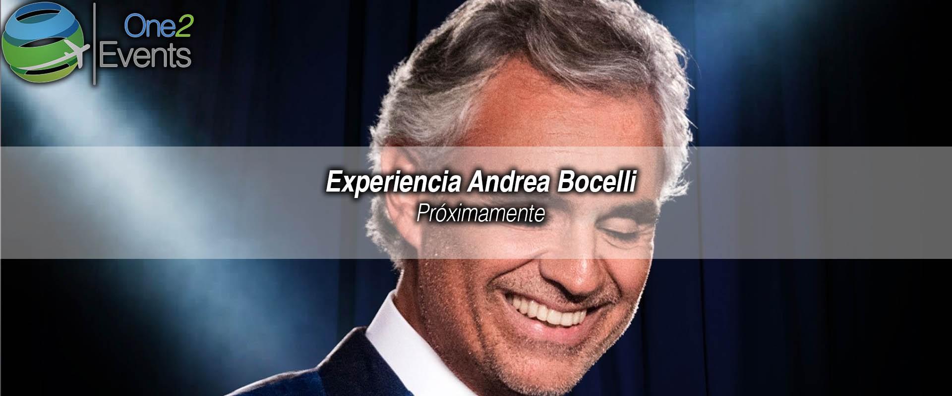Concierto Andrea Bocelli en American Airlines, Dallas