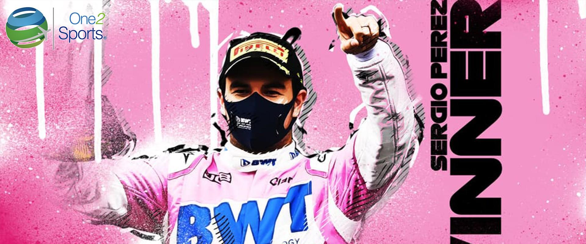 "Sergio ""Checo"" Pérez gana el GP de Sakhir"