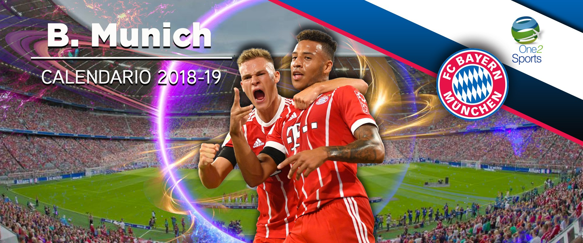 Calendario Bayern.Calendario Bayern Munich One2 Travel Group
