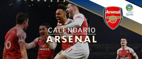 calendario Arsenal