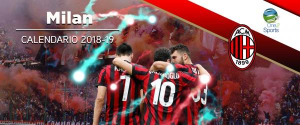 Calendario Milan