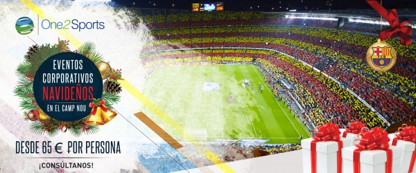 Eventos corporativos navideños en el Camp Nou