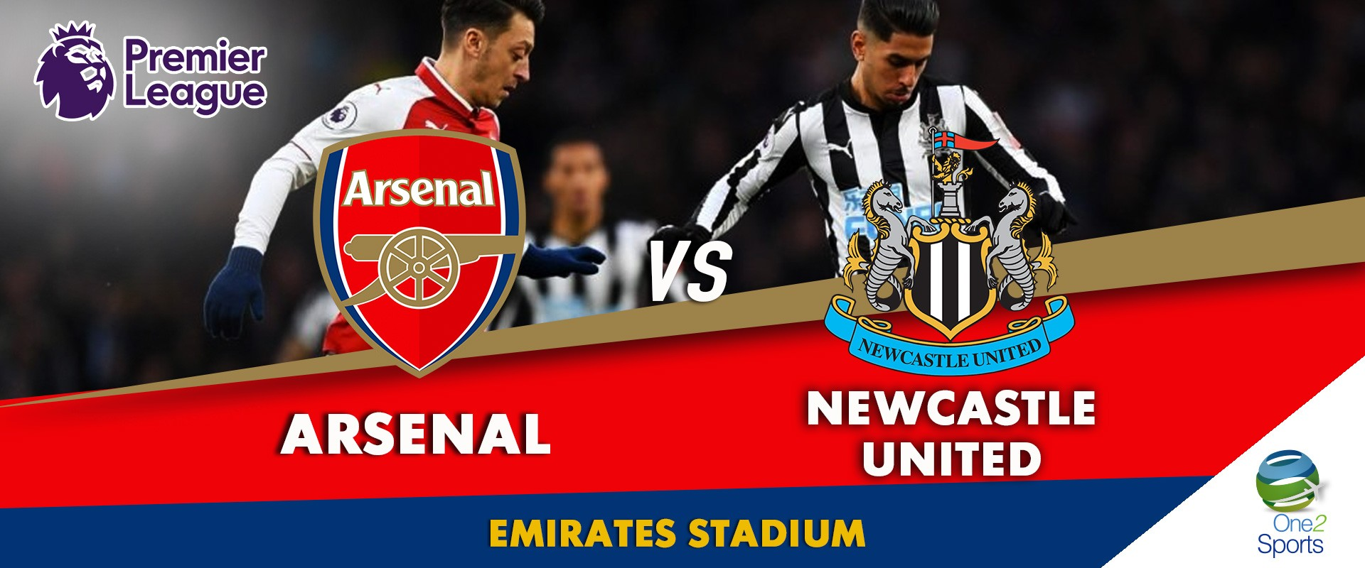 Arsenal vs Newcastel United