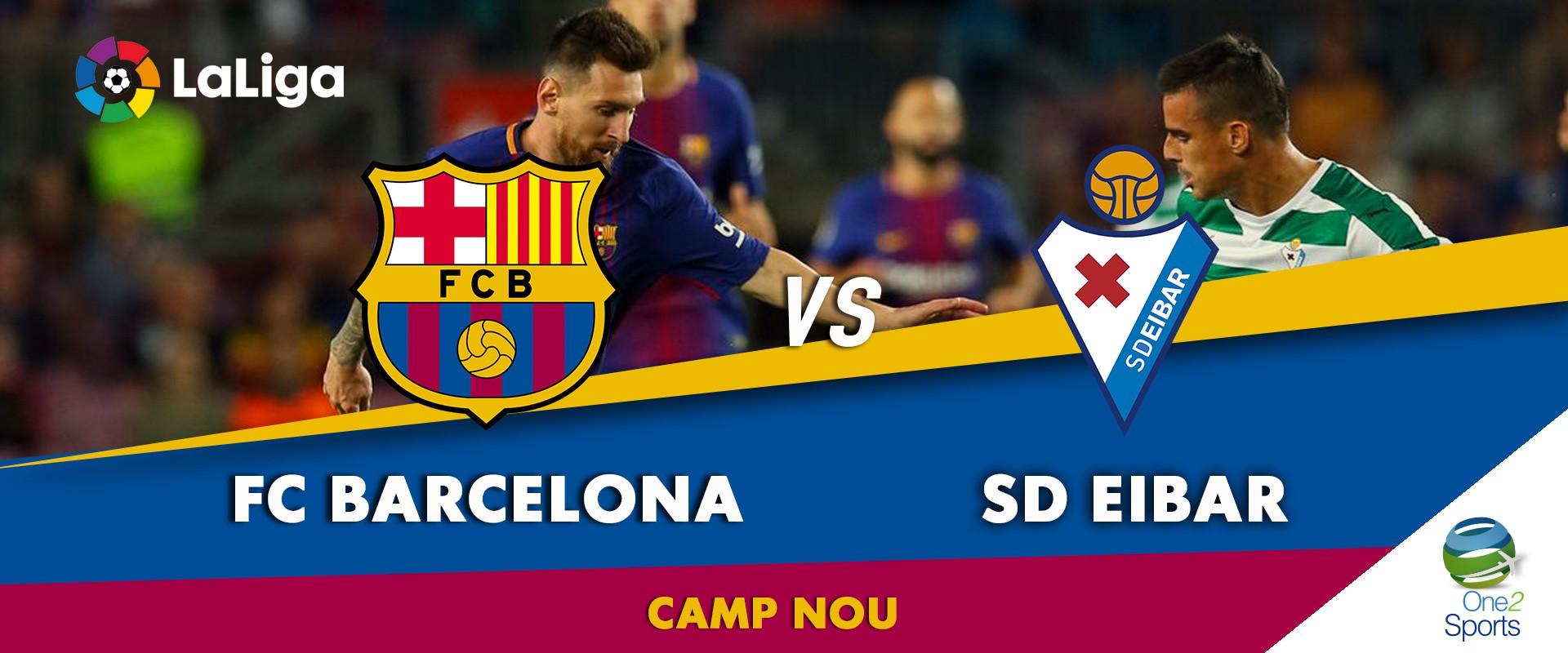 Barcelona vs Éibar
