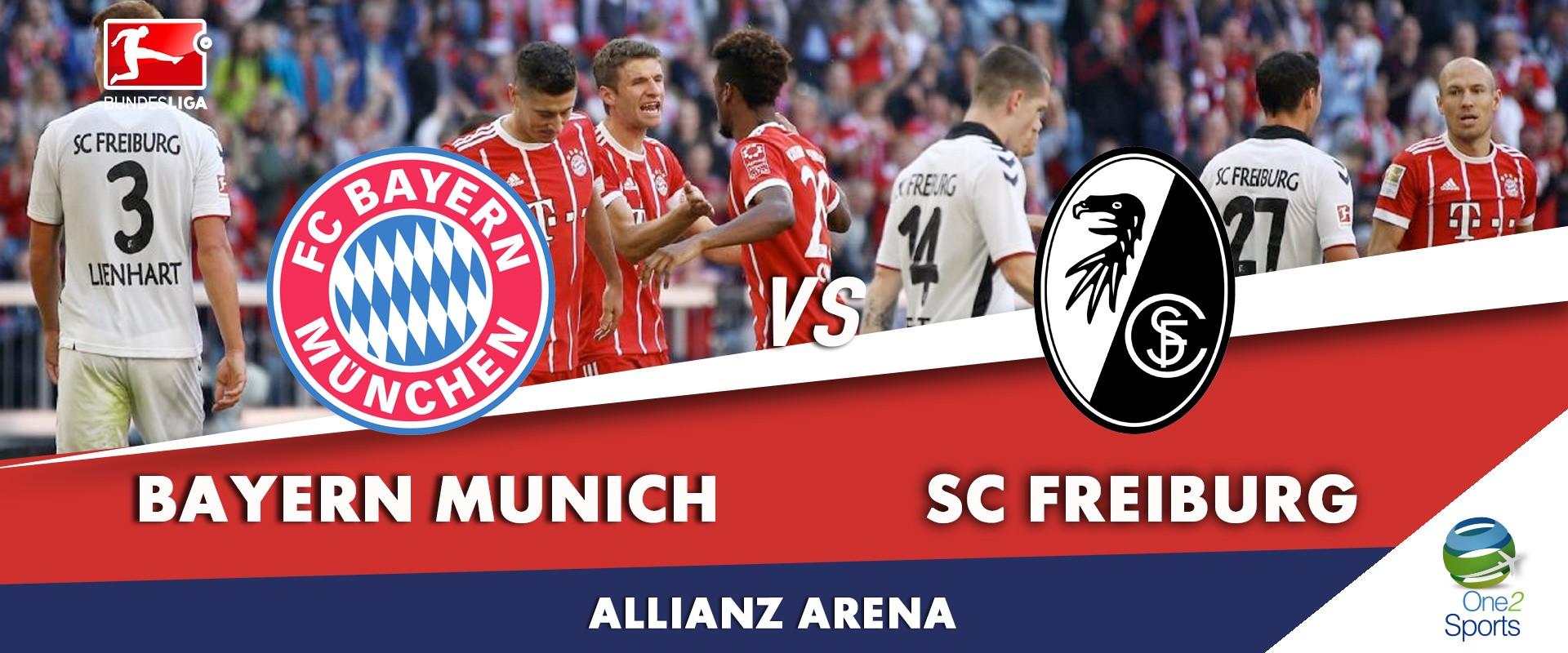 Bayern Munich vs Freiburg