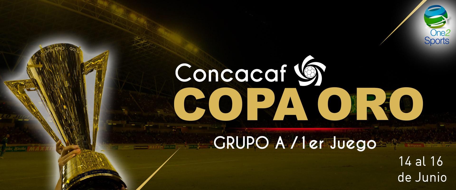 Copa Oro, 1er Juego del grupo A