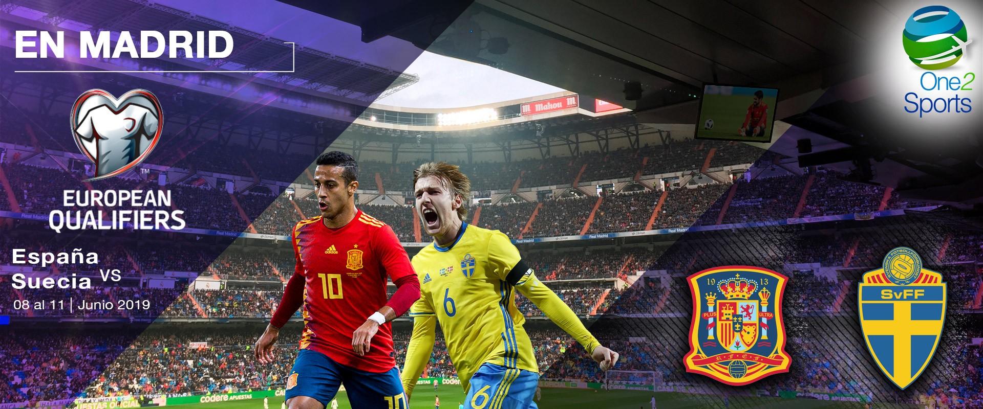 España vs Suecia