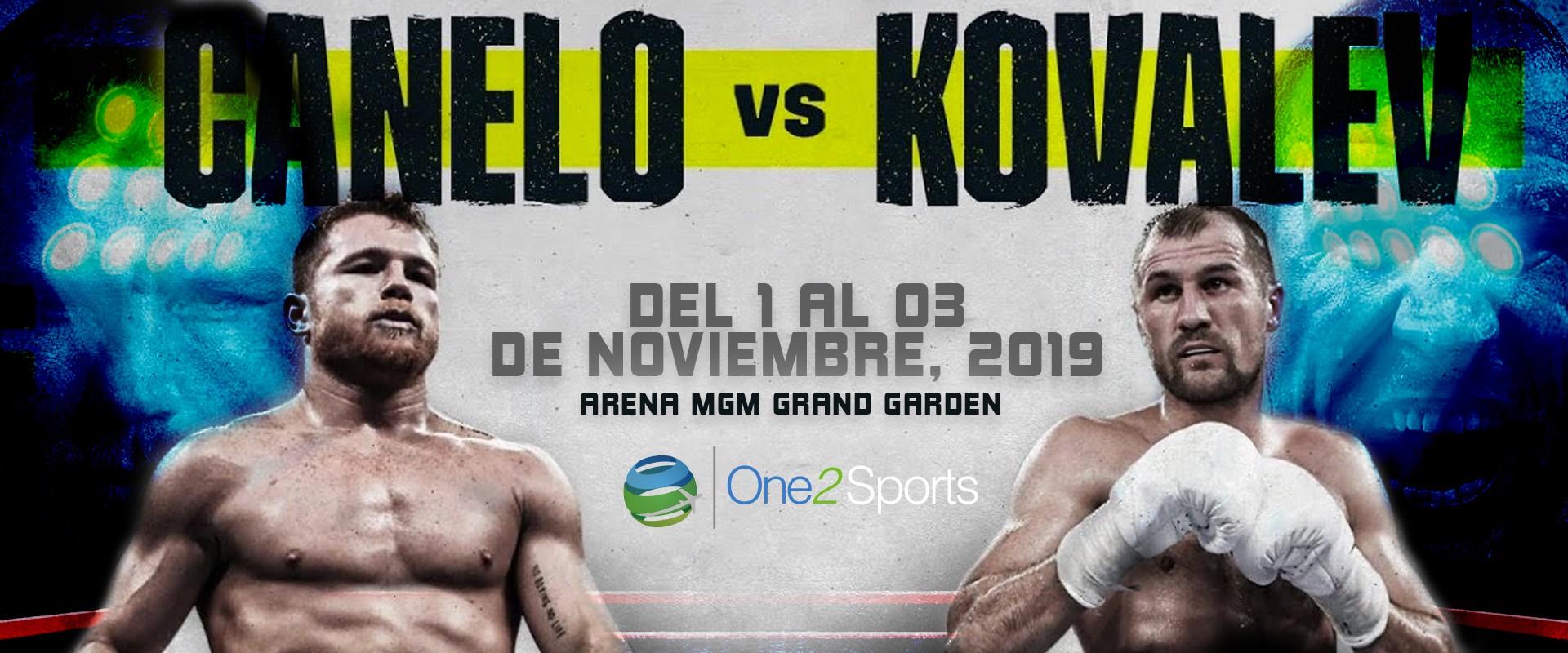 Experiencia Pelea Canelo Alvarez vs Sergey Kovalev