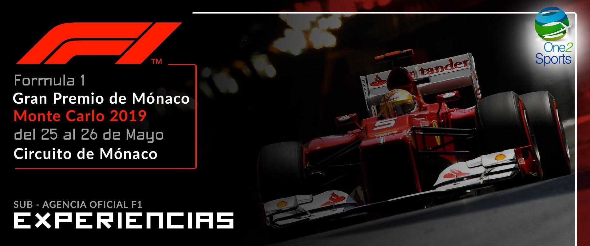 F1 Gran Premio de Mónaco 2019