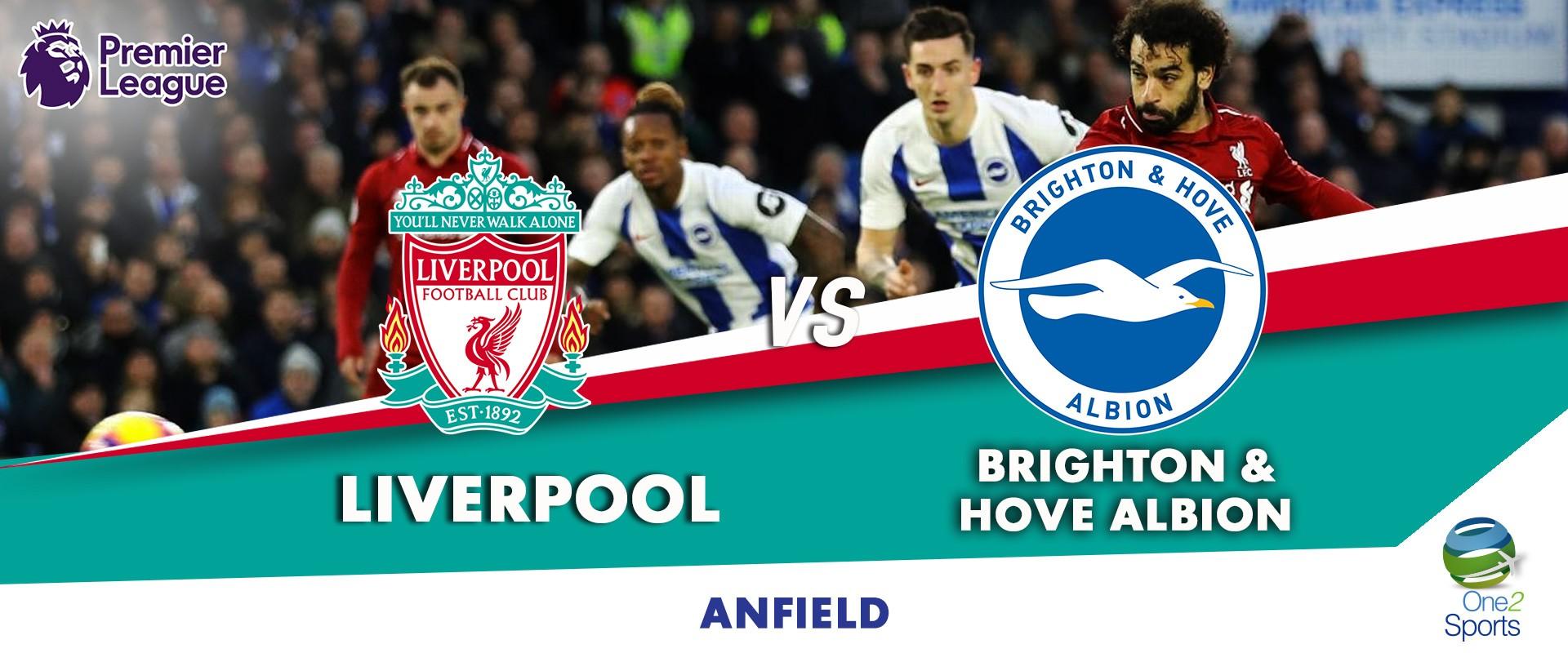 Liverpool vs Brighton and Hove Albion