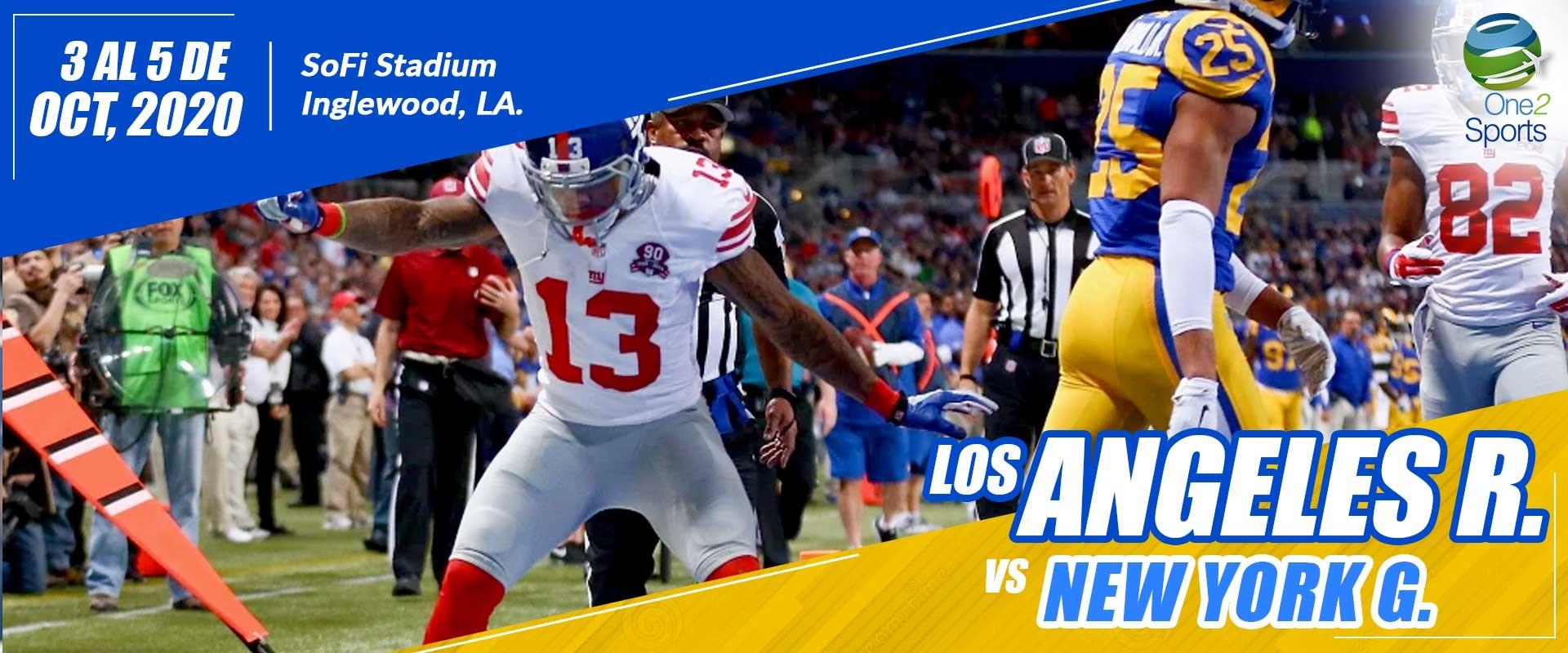 Los Angeles R vs New York G