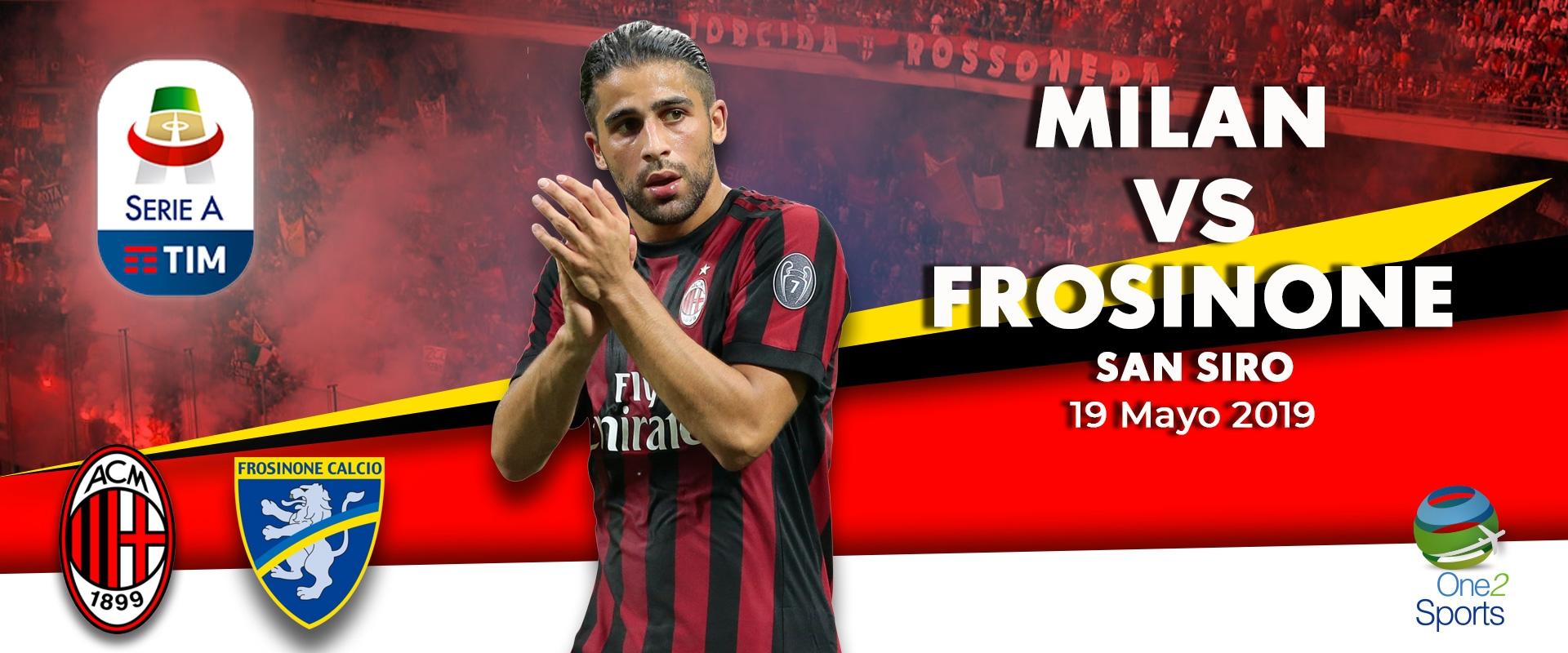Milan vs Frosinone