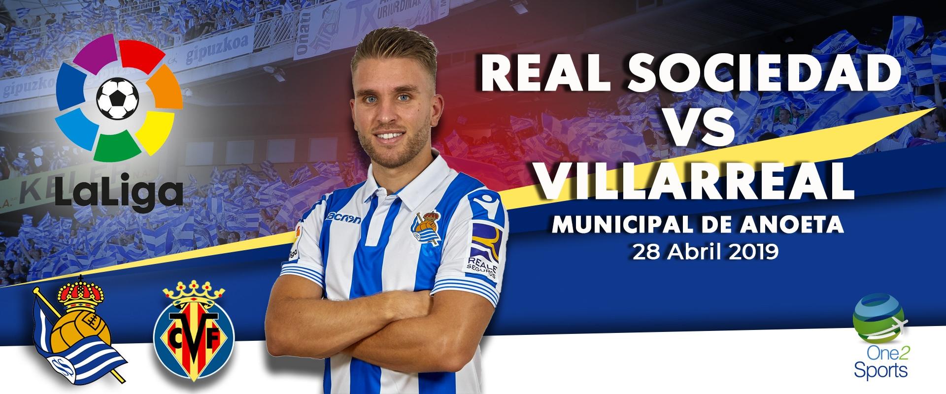 Real Sociedad vs Villareal CF