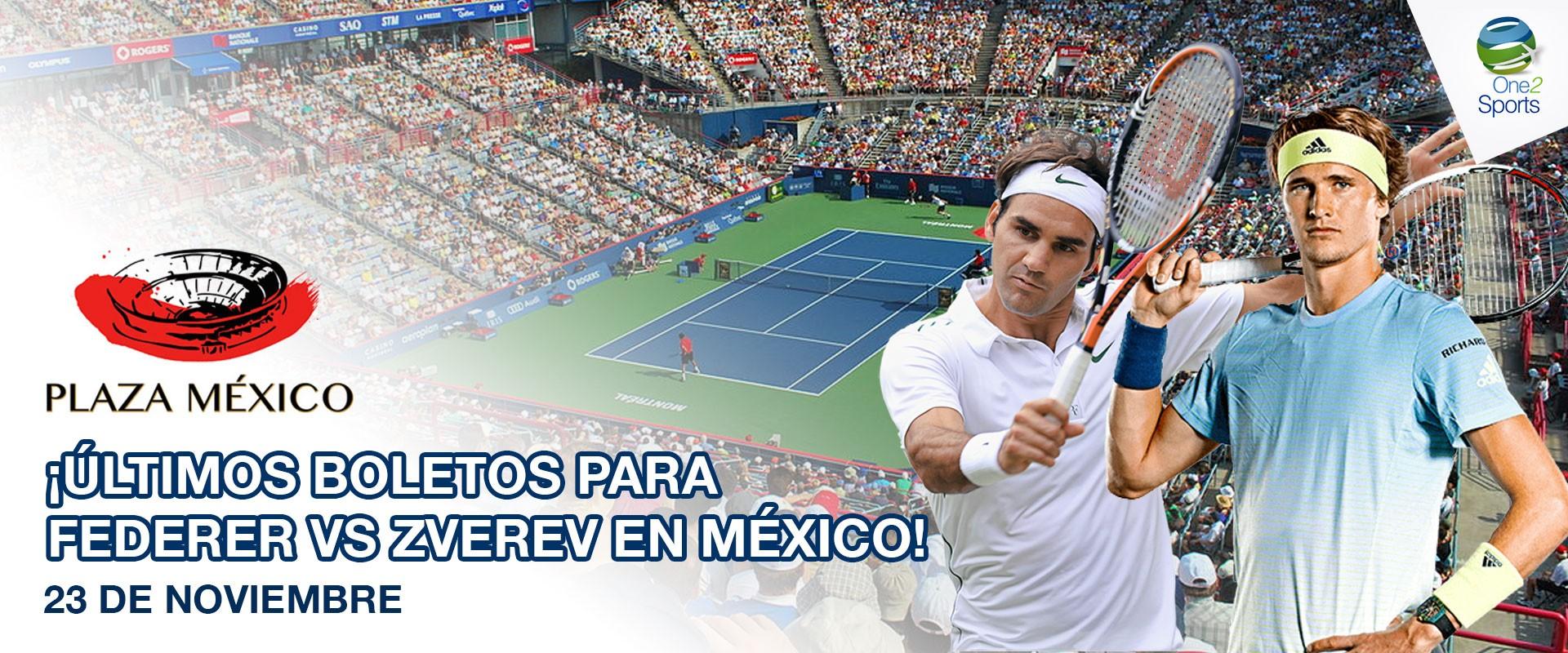 Roger Federer vs Alexander Zverev en México