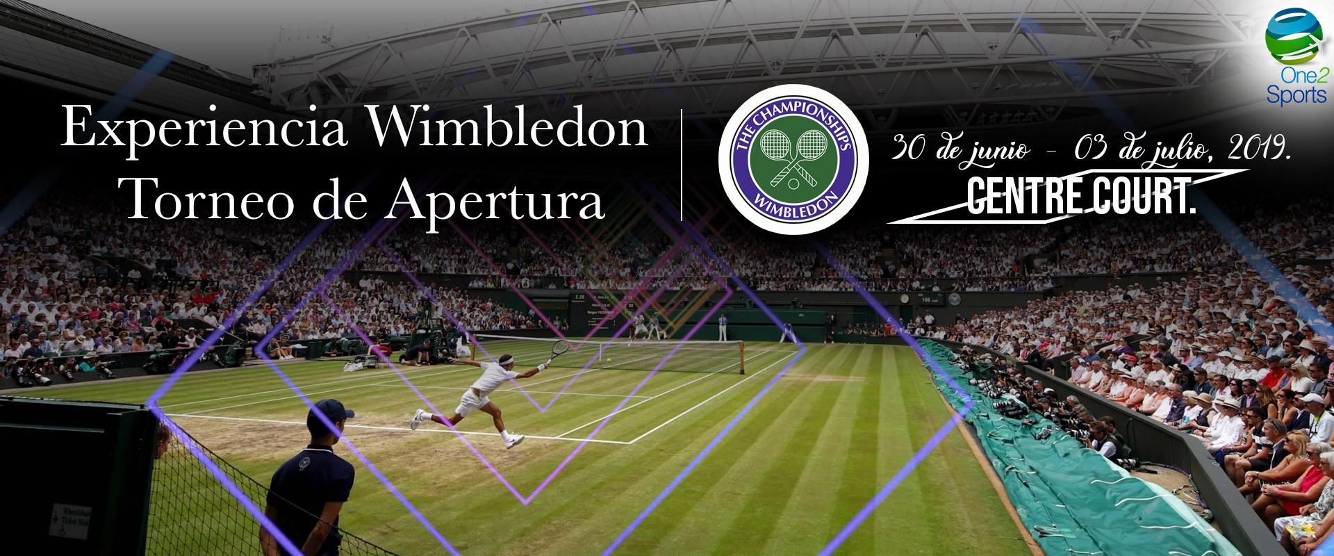 Experiencia del Torneo de Apertura Wimbledon